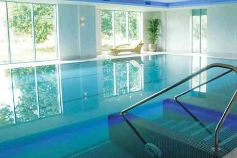De Vere Cotswold Water Park - Luxury spa day for one person including two treatments and a two course lunch or afternoon tea - Save 48%