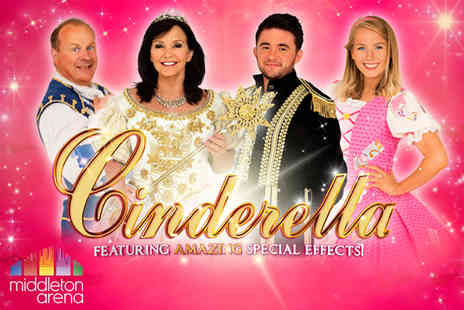 Shone Productions - Ticket to the Cinderella pantomime - Save 37%
