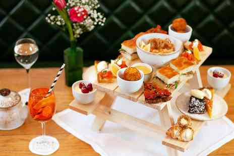 Theos Simple Italian in Hotel Indigo Kensington - Italian afternoon tea for Two - Save 0%