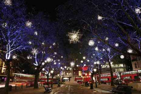 Premium Tours - Childs ticket to a Christmas lights London bus tour - Save 50%