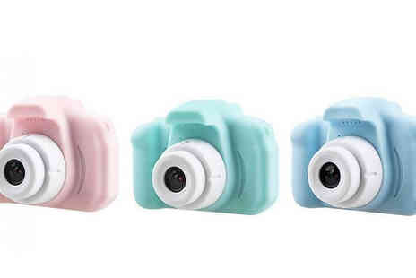 Secret Plums - Mini Digital Kids Camera with Optional 32GB SD Card - Save 55%