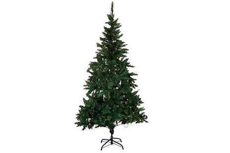 Morag online - Artificial 6ft Christmas Tree With 300 Led Lights - Save 44%