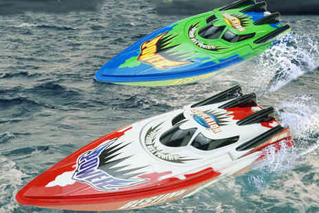 My Brand Logic - Remote control high speed boat. - Save 60%