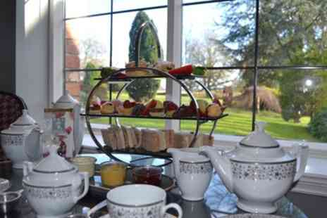 Crabwall Manor Hotel and Spa - Traditional Afternoon Tea with Optional Prosecco for Two or Four - Save 37%