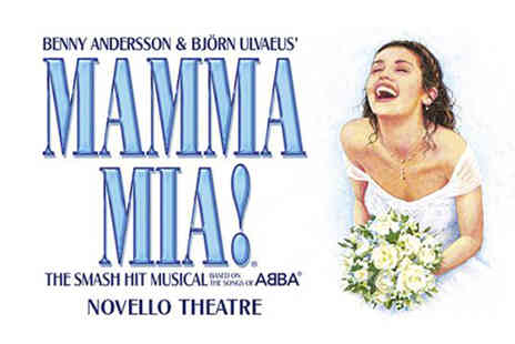 Just Book Sports - Four Star Overnight London stay and Mamma Mia! theater tickets - Save 0%