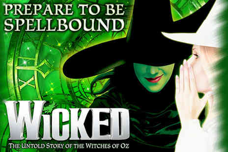 Just Book Sports - Four Star Overnight London stay and Wicked theater tickets - Save 0%