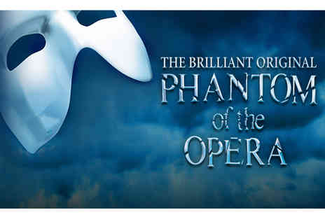 Just Book Sports - Four Star Overnight London stay and The Phantom of the Opera theater tickets - Save 0%