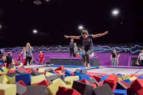 Ryze Dundee - Two Hour Trampoline Session with Grip Socks - Save 47%