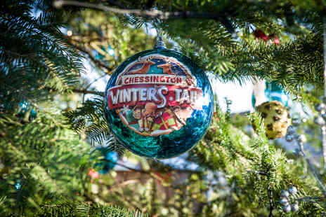 Chessington World of Adventures Resort - Full day Chessington Winters Tail ticket with The Gruffalo and The Stick Man - Save 30%