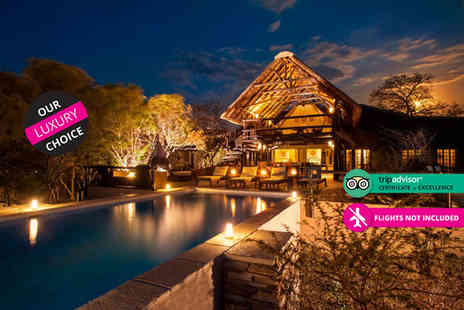 The Vuyani Safari Lodge - Five nights, all inclusive South African safari with daily game drives - Save 32%