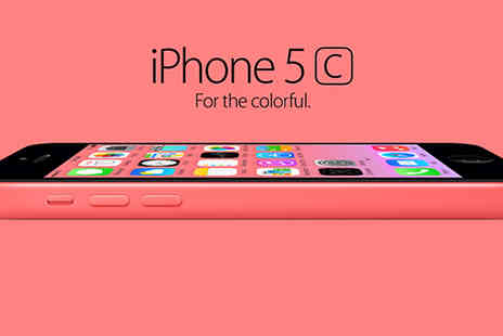Rhinotek - Apple iPhone 5C Unlocked 16GB or 32GB Choose from 5 Colours - Save 77%