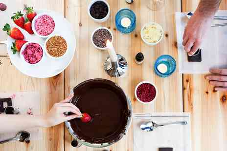 My Chocolate - Chocolate making experience for Two - Save 40%