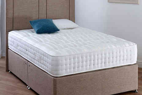 The Furniture Department - Orthopaedic back support millionaire mattress choose from four sizes - Save 82%