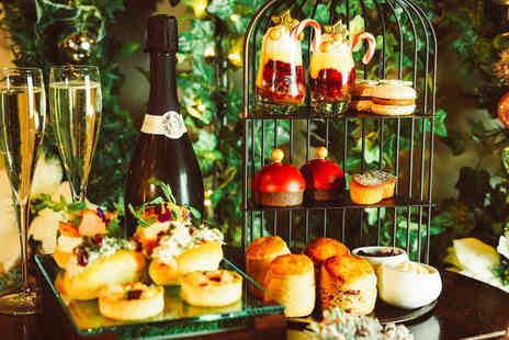 Leila Lilys - Festive afternoon tea for two people, Enjoy with a cocktail each - Save 45%