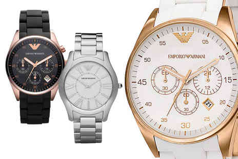 Best Watch Company - Emporio Armani ladies watch - Save 85%