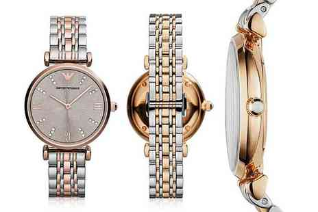 Cheap Designer Watches - Ladies Emporio Armani AR1840 watch - Save 64%