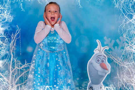 Village Photography - Frozen 2 inspired photoshoot for up to 3 children including an 8 inch x 6 Inch print - Save 91%