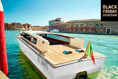 Hyatt Centric Murano Venice - Four Star Elegant Design Hotel Overlooking Murano's Grand Canal for two - Save 77%