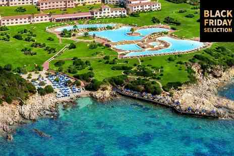 Colonna Resort - Five Star Breathtaking Resort with Largest Seawater Pool in Europe for two - Save 75%