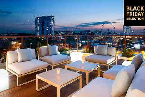 H10 London Waterloo - Four Star Rooftop City Views near the South Bank for two - Save 71%