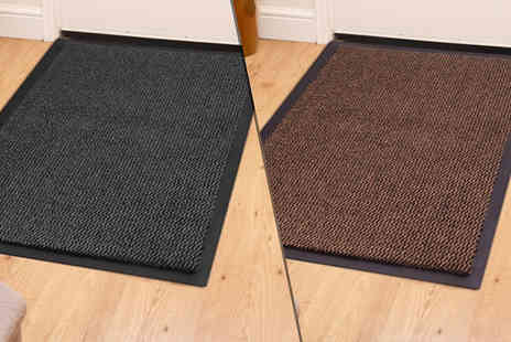Fusion - Dirt Grabber Doormat Choose from 5 Sizes and 4 Colours - Save 83%