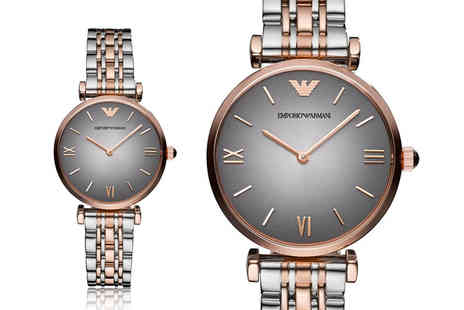 Ticara Watches - Ladies Emporio Armani AR1725 watch - Save 72%