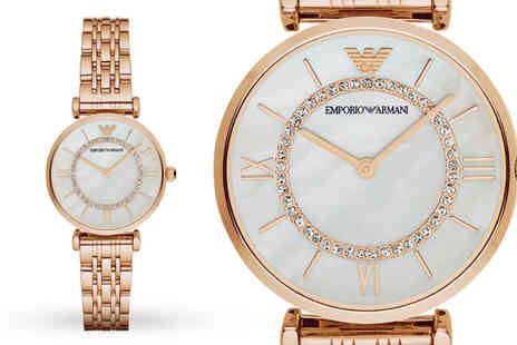 Ticara Watches - Ladies Emporio Armani AR1909 watch - Save 73%