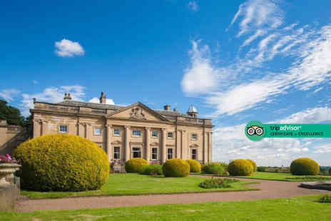Wortley Hall - Overnight stay for two people with breakfast, a glass of Prosecco and cream tea on arrival - Save 39%