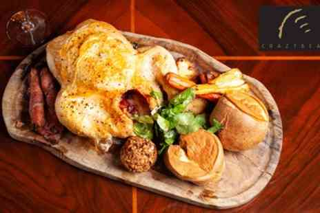 The Crazy Bear Group - Three Course Sunday Lunch and Premium Champagne - Save 42%