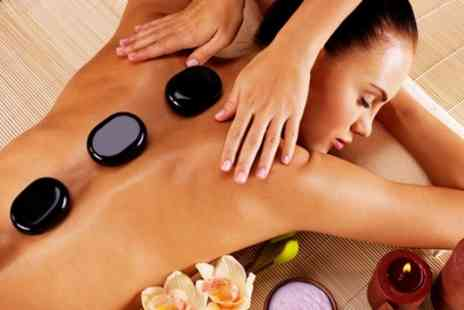 The Healing Rooms - One Hour Hot Stone Massage - Save 51%