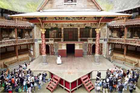 Shakespeares Globe - Guided Tour, Theatre and Thames Cruise Sightseeing Cruise for Two - Save 0%