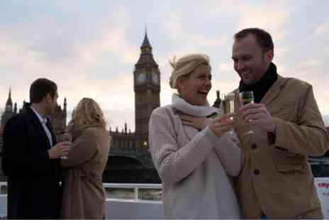 Virgin Experience Days - Evening Thames Cruise for Two with Bubbly and Canapes - Save 0%