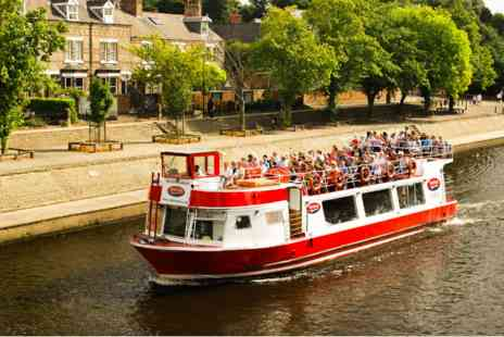 Virgin Experience Days - City of York Winter Sightseeing River Cruise for Two - Save 0%