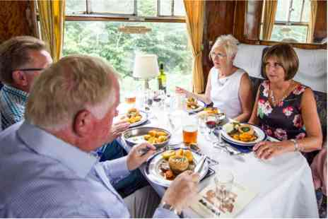 Virgin Experience Days - Saturday Lunch Experience for Four aboard The South Yorkshireman Steam Train - Save 0%