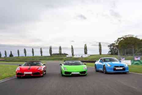 Virgin Experience Days - Junior Triple Supercar Driving Thrill - Save 0%