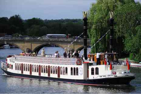 Virgin Experience Days - Henley on Thames River Cruise with Free Flowing Gin and Fizz for Two - Save 0%