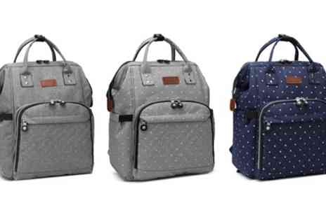 Groupon Goods Global GmbH - Functional Backpack in Choice of Colour - Save 60%