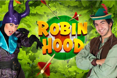 Queens Theatre Hornchurch - Ticket to Robin Hood Christmas Pantomime - Save 0%