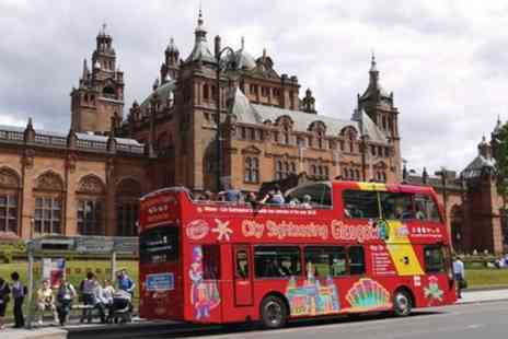 City Sightseeing - Tickets to see Hop On Hop Off Glasgow 1 Day - Save 0%