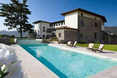 Podere Castel Merlo - Serene County Retreat in 14th Century Castle for two - Save 66%