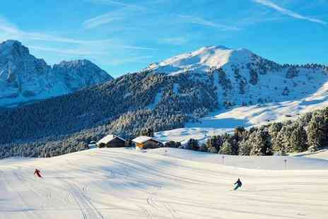 Hotel Wolkenstein - Three Star Cosy Hotel in the Heart of Extensive Ski Area for two - Save 68%