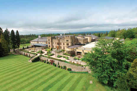 Slaley Hall - Luxury spa day with a choice of two 25 minute treatments and a three course buglunch for one person - Save 58%