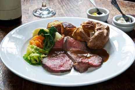 The Cotton Arms - Two Course Sunday Lunch with Wine for Up to Four - Save 39%