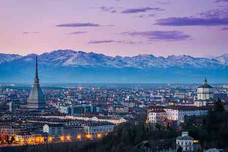 NH Collection Piazza Carlina - Four Star Panoramic Views at the Foot of the Alps for two - Save 73%