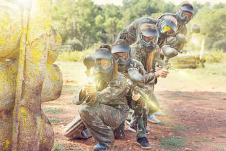 Bristol Activity Centre - Paintballing day for ten people including 100 paintballs and a light lunch each - Save 96%