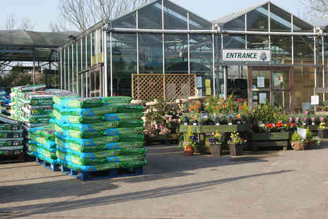 Southwell Garden Centre - Lunch and drinks for two people - Save 52%