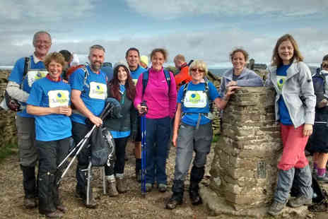 Alfresco Adventures - Guided Yorkshire Three Peaks Challenge walk - Save 51%