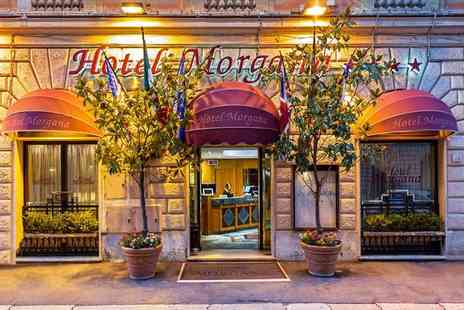 Hotel Morgana - Four Star Bold Design in the Heart of the Eternal City for two - Save 80%