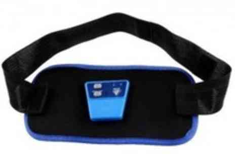 Roolyn.com - Wireless Electronic Ab Belt with battery and Free gel - Save 80%