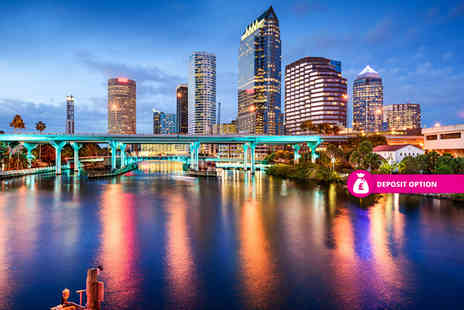 Great Pacific Travels - Seven nights Orlando and Tampa Bay getaway with bus transfer and flights - Save 25%